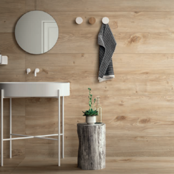 Holzoptik Fliesen Badezimmer