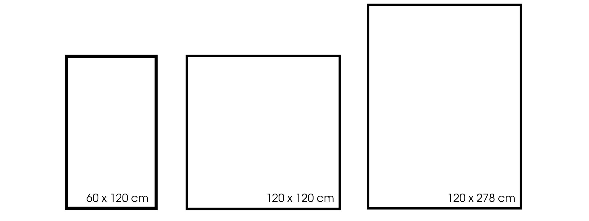 Größen Ombré 2
