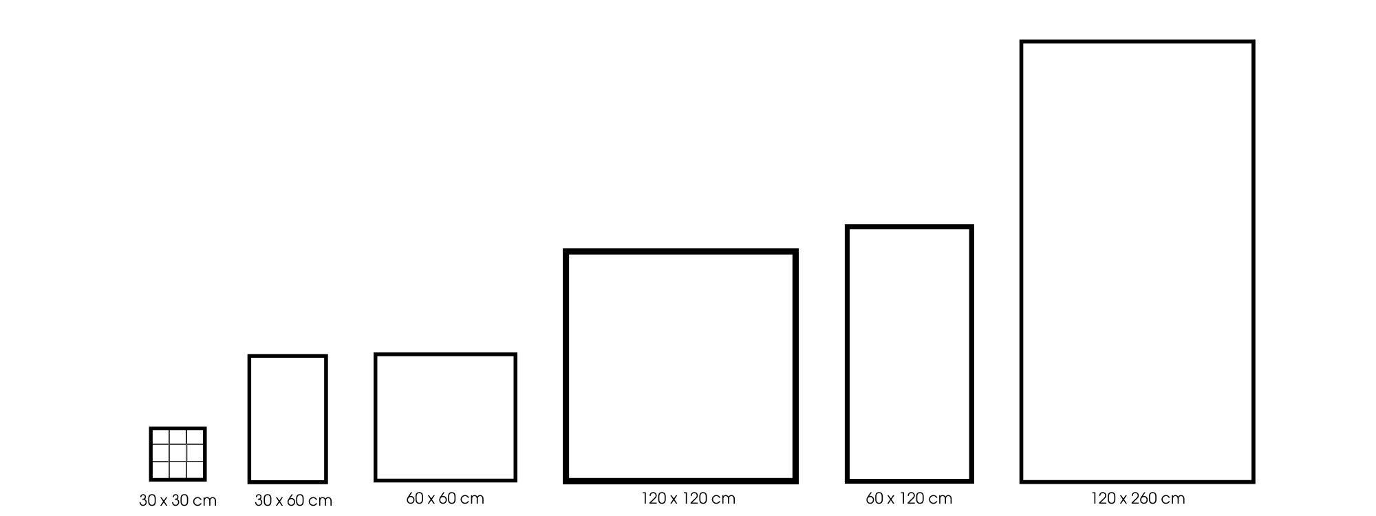 Metallo Größen