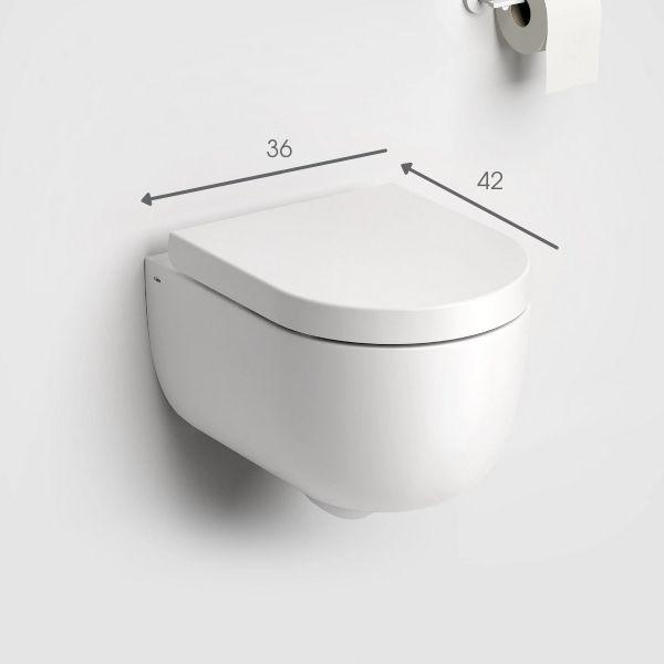 Toilettengröße