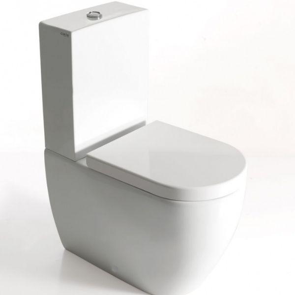 MINI-WC mit Monoblock-Spülkasten