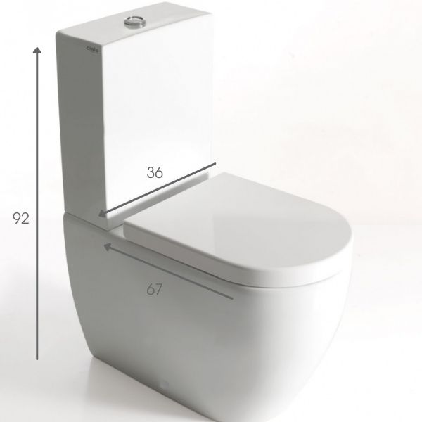 WC Größen 8