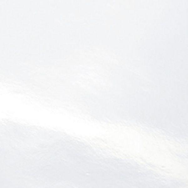 Weiss glänzend
