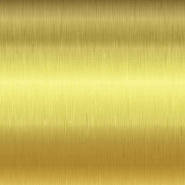 Gold gebürstet